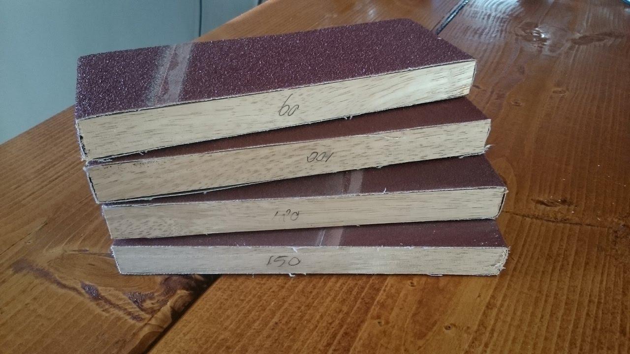 tweakwood: how to make the easiest sanding block ever