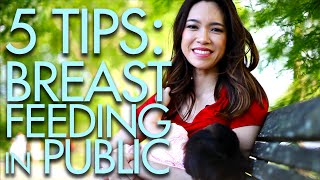Repeat youtube video 5 TIPS for BREASTFEEDING in PUBLIC