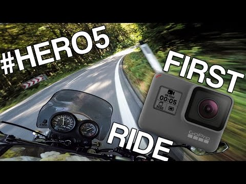 FIRST GOPRO HERO5 MOTORCYCLE RAW [stabilization ON]