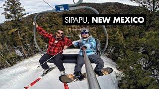 New Mexico Ski Resorts - Snowboarding & Skiing at Sipapu - February 2016