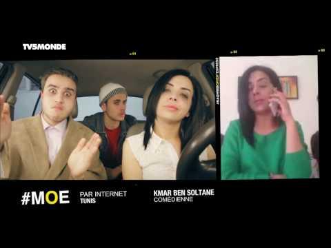 #MOE - CONNEXION Tunis avec la comédienne Kmar Ben Soltane