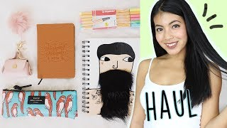 BACK TO SCHOOL HAUL 2017