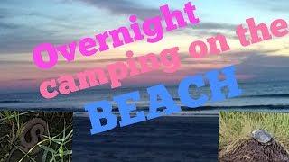 Beach overnight False Cąpe State Park virginia