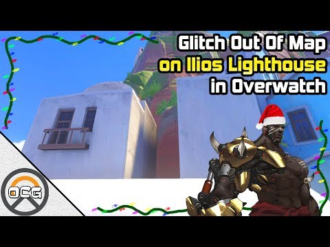 OCG  Glitch Out Of map on Ilios Lighthouse in Overwatch