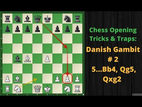 Chess Opening Tricks & Traps To Win Fast : Danish Gambit # 2