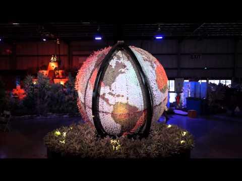 Succulent Gardens Globe Spinning
