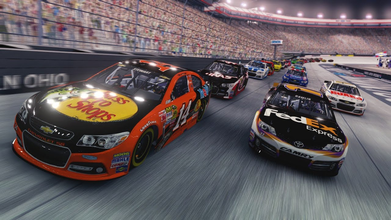 NASCAR 14 The Game Review (NASCAR 2014 Game) - YouTube