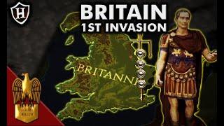 Caesar First Invasion Of Britain