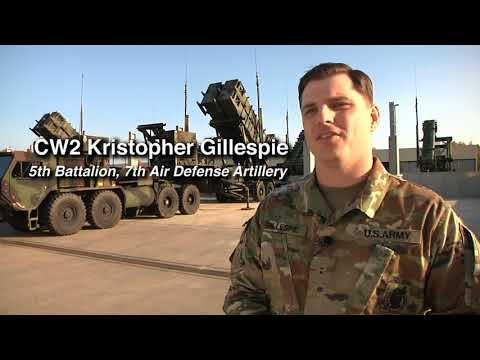 MeetYourArmy: Chief Warrant Officer Kristopher Gillespie, 10th AAMDC