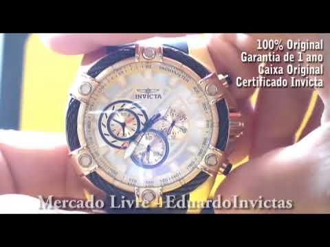 Relógio Invicta 25526 Bolt Masculino Original