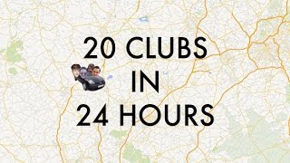 20 Premier League Football Clubs In 24 Hours