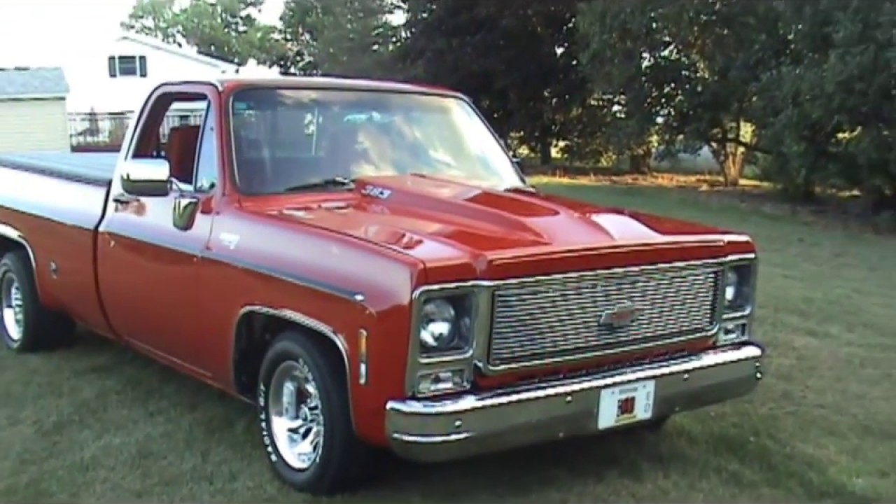 1980 custom chevy c 10 show truck youtube sciox Gallery