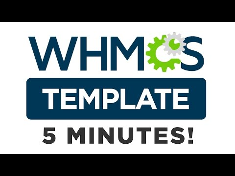 Create a Custom WHMCS Template in Just 5 Minutes!