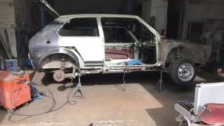 Golf 1 GTI  Bj 1979 Restauration 2017 Teil 1