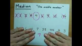 Find the Median (the Middle Number)!