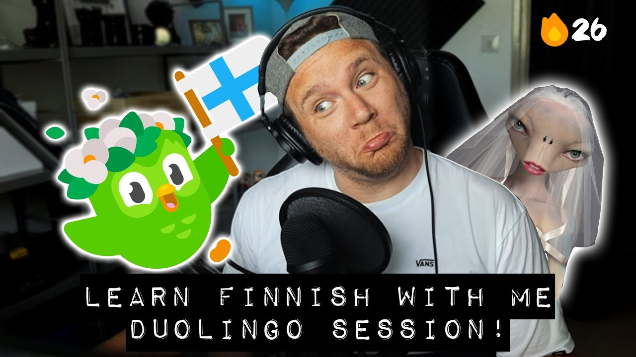 TRYING TO LEARN FINNISH (for real) Part 12 | Duolingo Finnish Course