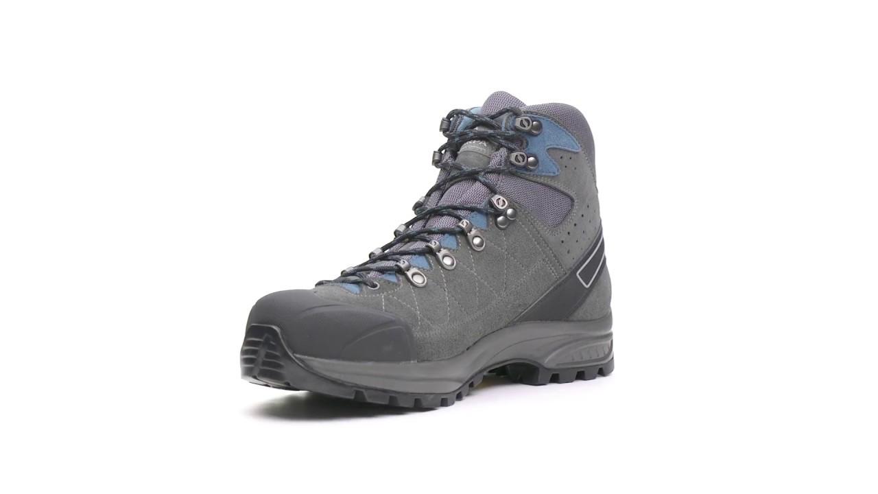48edde058 SCARPA Men's Kailash Trek GTX Hiking Boots - YouTube
