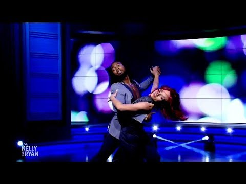 Josh Norman & Sharna Burgess Perform The Foxtrot (Live Kelly & Ryan)