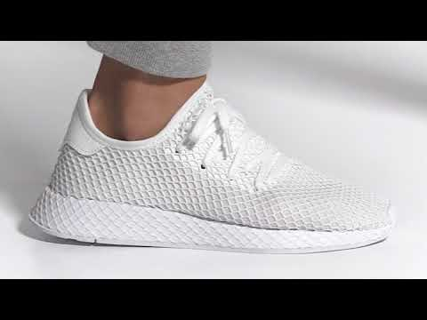 2db9e7bf Zapatilla Deerupt Runner Blanco - YouTube