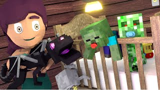 Minecraft | BABY MONSTER PET SHOPPING: Baby Monsters Mod Showcase!