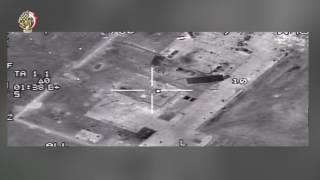 بالفيديو| نتائج ضربات القوات المسلحة على الإرهابيين في ليبيا