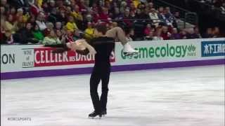 Tessa Virtue & Scott Moir at Worlds 2013 - FD