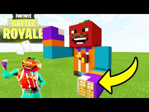 Minecraft: How To Make A Tomato Head Statue House
