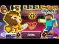 🔴Monster Legends: PIXELION level 130 vs Minecraft 130 combat PVP