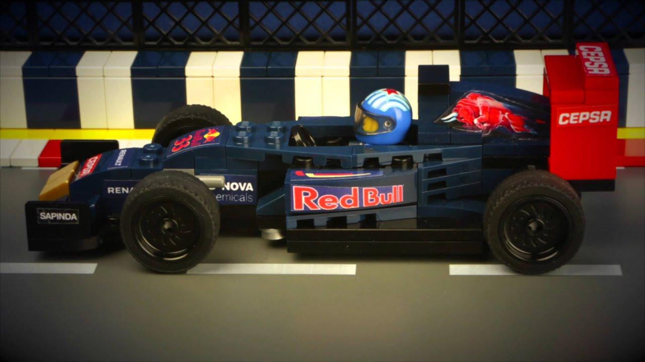 """Grand Prix Racing >> Max Verstappen """"No"""" in Lego - YouTube"""