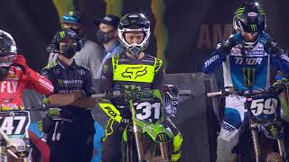 Supercross Round #15 250SX Highlights | Atlanta, GA, Atlanta Motor Speedway | April 17, 2021
