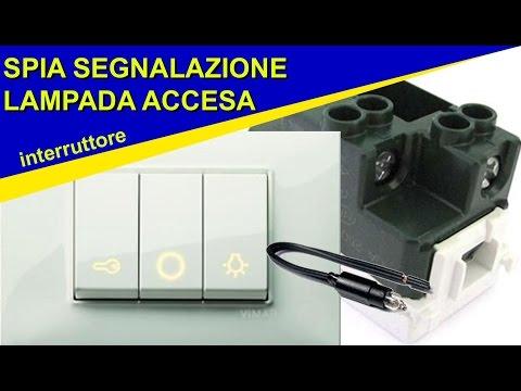 Schema Elettrico Presa Interruttore Lampadina : Come collegare una spia dell interruttore per segnalare la