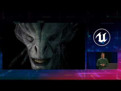 Unreal Engine Instantly Turns Andy Serkis Into An Alien