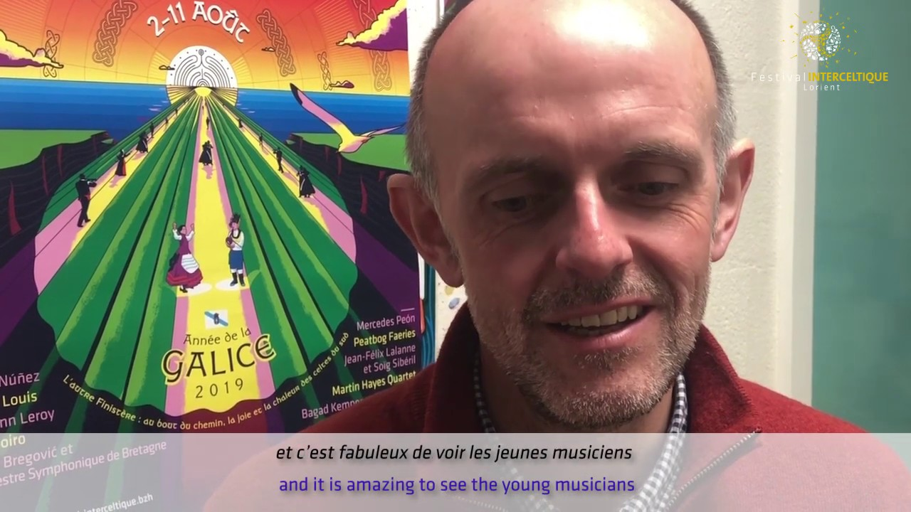 Eben rencontre Sian (New Leurenn #3) - Festival Interceltique de Lorient 2019