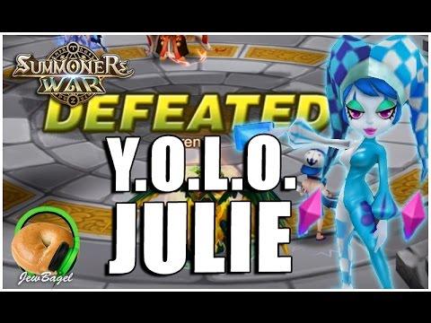 SUMMONERS WAR : Y.O.L.O. JULIE (Water Pierret Arena)