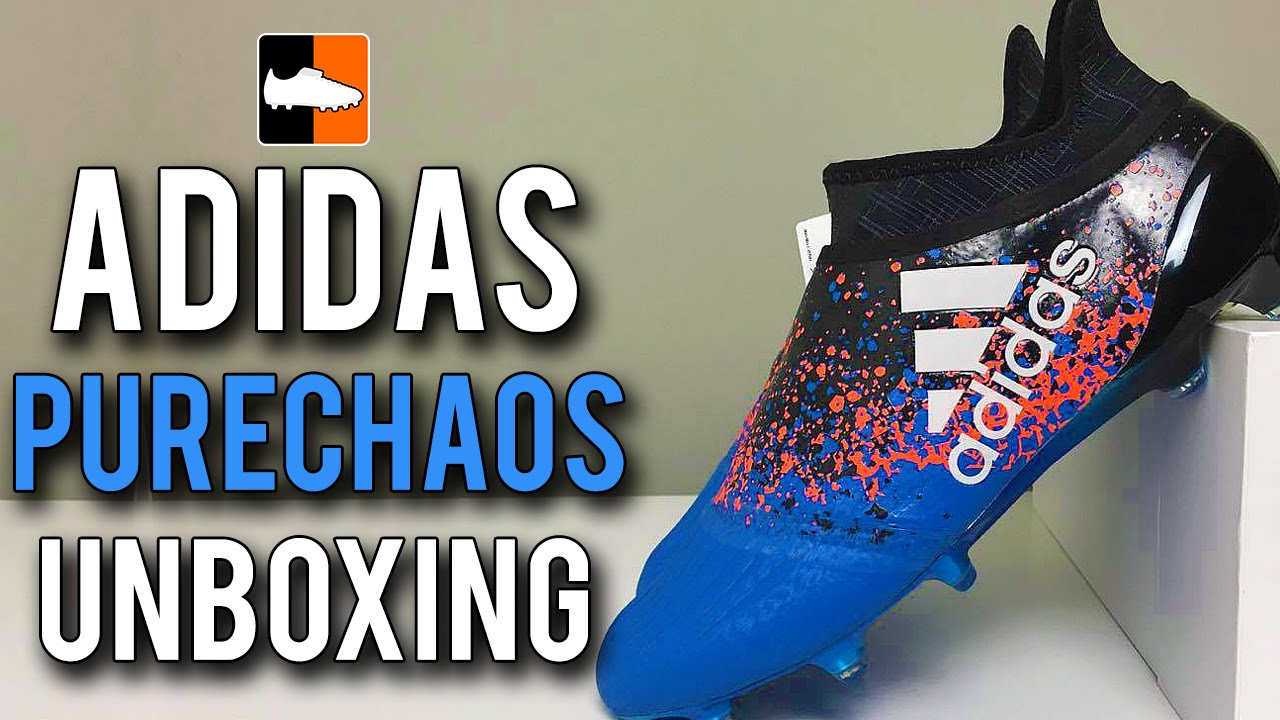 39e1c99ca Paris X16+ PURECHAOS Unboxing | adidas Euro 2016 Pack Football Boots -  YouTube