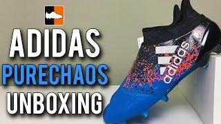 purchase cheap 1676e 144d3 Paris X16+ PURECHAOS Unboxing   adidas Euro 2016 Pack Football Boots