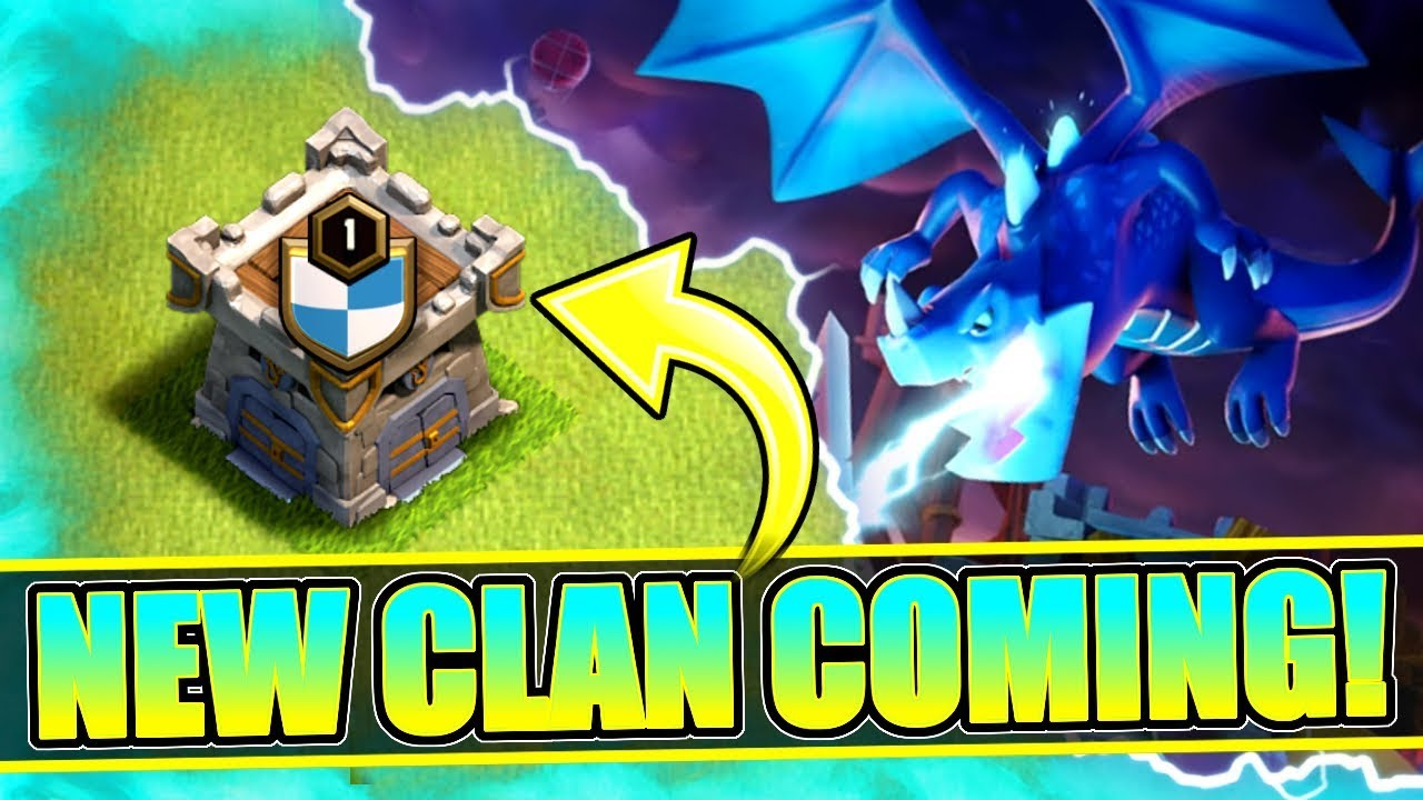 A NEW CLAN COMING FOR THE TOWN HALL 12 UPDATE! ✅ Clash Of Clans