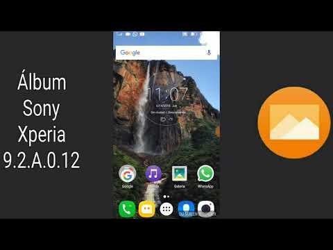 Álbum Sony Xperia V9.2.A.0.12 Apk Actualizado 2018 [No Root]