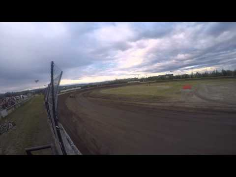 Wingless Sprint Exhibition - Mitchell Raceway - 7/27/2014