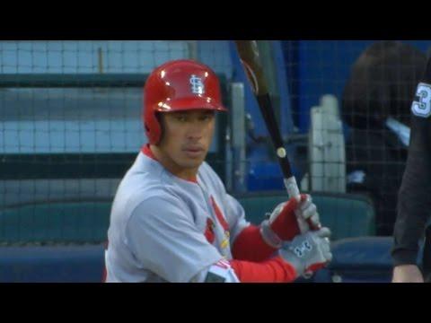 STL@ATL: Wong singles three times in Cardinals' win