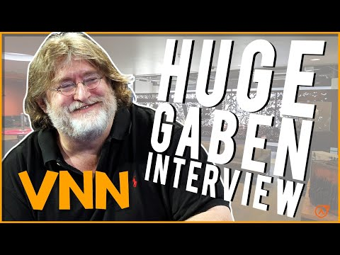 Gabe Newell's HUGE Half-Life Interview