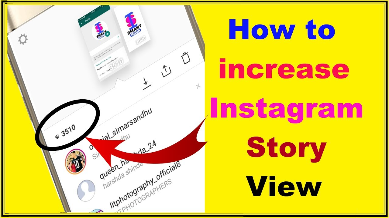 how to incrase instagram story view | Hindi by Smart India