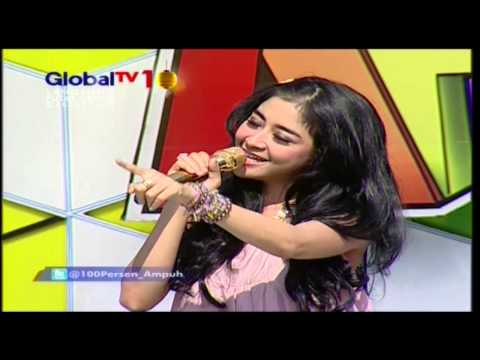UUT PERMATASARI Live At 100% Ampuh (30-08-2012) Courtesy GLOBAL TV