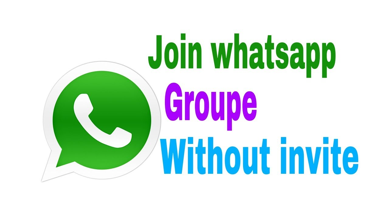 How to join whatsapp group without invite
