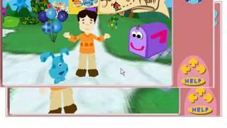 Blue's Clues - Joe's 3D Scavenger Hunt (2002 Nick Jr. Shockwave Application)