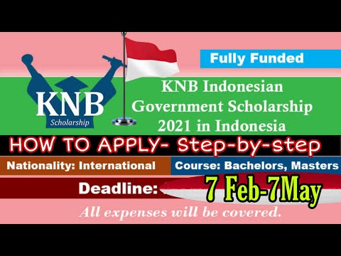 How To Apply Indonesia Government Scholarship 2021 | Fully Funded