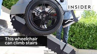 Wheelchair Can Climb Stairs