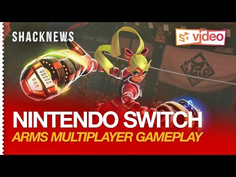Nintendo Switch: ARMS Multiplayer Gameplay