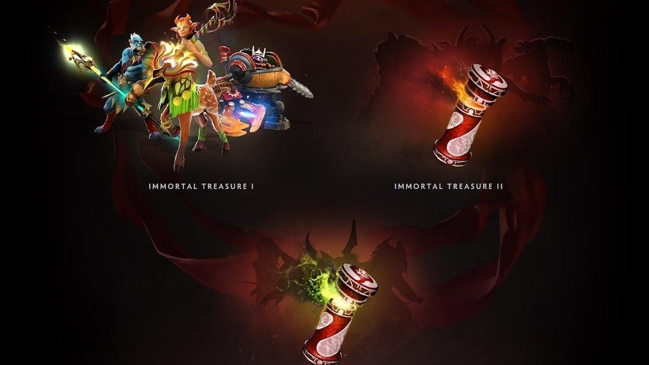 Dota 2 S Immortal Treasure 3 Launches: Dota 2 International 2016 Immortal Treasure 1
