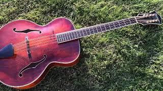 Mandocello Study in C Major (AD Boden), mandocello/mandolin duet
